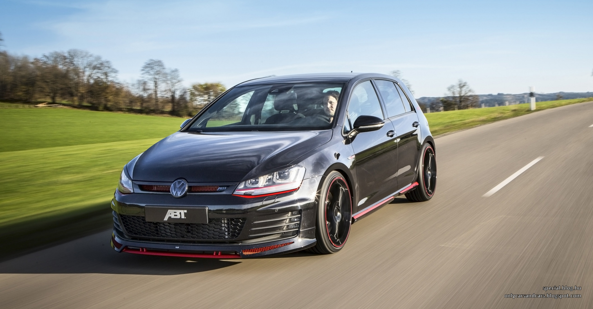 volkswagen golf vii gti dark edition by abt only cars and cars. Black Bedroom Furniture Sets. Home Design Ideas